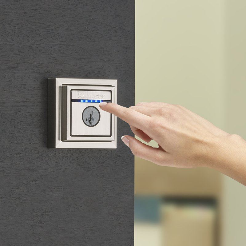 Kevo Contemporary Touch To Open Smart Lock Techome