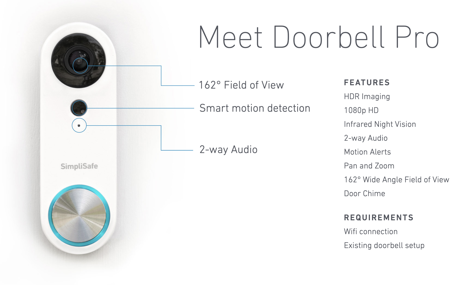 Simplisafe  U2013 Doorbell Pro  U2013 Techome Brilliance Awards